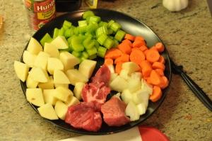 Warm Beef Stew