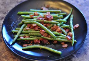 Bacon Green Beans - The Amazing Mommy