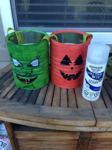 """""""Trick or Treat!"""" Buckets"""