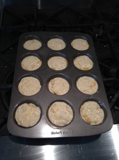 Peach Oatmeal Muffins