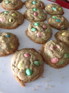 Mini Egg Cookies - The Amazing Mommy