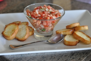 Bruschetta - The Amazing Mommy